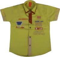 Chinar Shirts New Generation Boy's Embroidered Casual Shirt