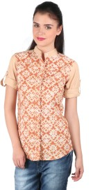 Mahikrite Women's Printed Casual Shirt