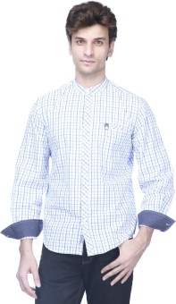 I Jeanswear Ck Men's Checkered Casual Shirt Men's Checkered Casual Shirt
