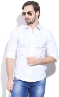 Calvin Klein Men's Solid Casual Shirt - SHTE3FNHGHXFHTYZ