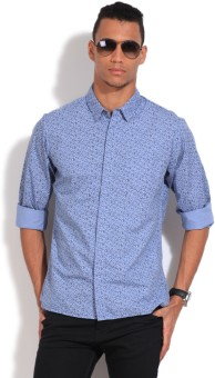 United Colors Of Benetton Men's Floral Print Casual Shirt
