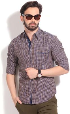 Men's Checkered Casual Shirt: Shirt