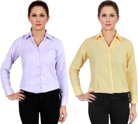 Ngt Women's Solid Formal Shirt