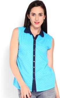 Wrangler Women's Printed Casual Shirt