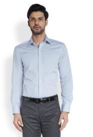 Raymond Men's Solid Formal Grey Shirt