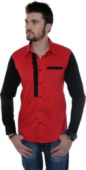 See Designs Men's Solid Casual Shirt - SHTEFUPRUG6GNYRZ