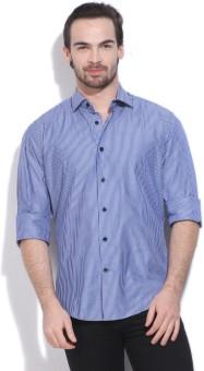 GAS Men's Striped Casual Shirt