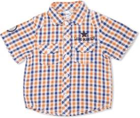 MAX Boy's Checkered Casual Shirt