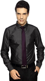 F Factor By Pantaloons Men's Solid Formal Shirt - SHTE9WZ7AT4KBHFM