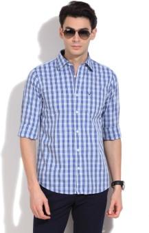 Allen Solly Men's Checkered Casual Shirt