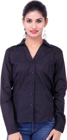 Fbbic Women's Solid Formal Shirt