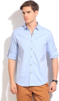 The Indian Garage Co. Men's Solid Casual Shirt - SHTEFFFEK4ZTHQWH