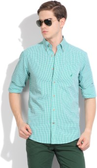 Nautica Men's Checkered Casual Shirt
