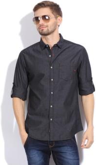 The Indian Garage Co. Men's Solid Casual Shirt - SHTEFFFEFU8RQPYG