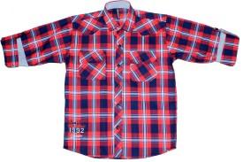 Bad Boys Boy's Checkered Casual Shirt