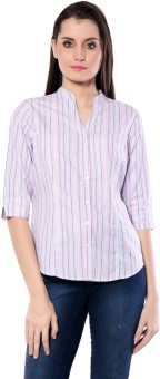 Meira Camilla Women's Printed Party Reversible Shirt - SHTE4ZP5NHZZGQBT