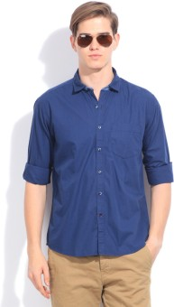 CODE CASUALS Men's Solid Casual Shirt - SHTEYEFXQHSBX2HC