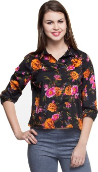 Oxolloxo Printed Stylish Women's Floral Print Casual Shirt