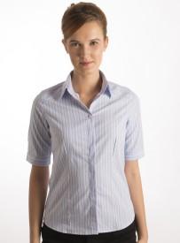 Bombay High Women's Striped Formal Shirt