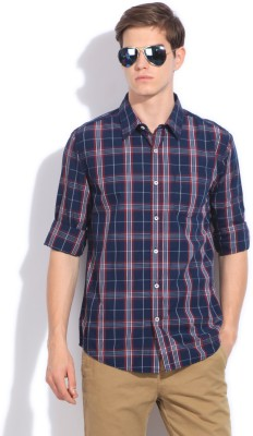 People Men Checkered Casual Shirt