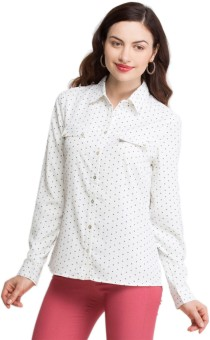 Oxolloxo Stylish Women's Printed Casual Shirt