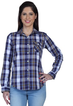 Fast N Fashion Lesly Women's Checkered Casual Shirt