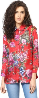 Love From India Women's Floral Print Casual Shirt - SHTE7T4YVX5GVBRG