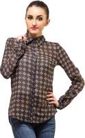 Ladybug Women's Striped Casual Shirt