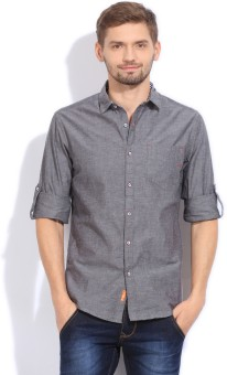 The Indian Garage Co. Men's Solid Casual Shirt - SHTEFFFE4KTFYDRH