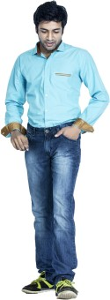 Bombay Casual Jeans Men's Solid Casual Shirt