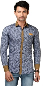 Brandvilla Men's Graphic Print Casual Shirt