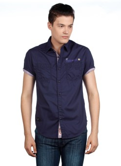 Compare Horsefly Men Solid Casual Shirt: Shirt at Compare Hatke