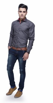 Jads Men's Printed Casual, Lounge Wear, Party Shirt