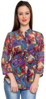 Tapyti Ryder Women's Graphic Print Casual Shirt