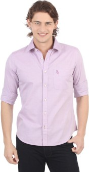 Compare Regent Polo Club Men Solid Casual Shirt: Shirt at Compare Hatke