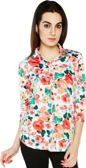 Globus Women's Floral Print Casual Shirt