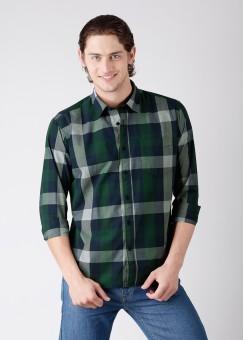 Compare Highlander Men Checkered Casual Shirt: Shirt at Compare Hatke