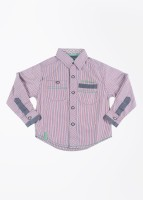 612 Ivy League Boy's Striped Casual Shirt
