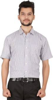 Stylo Shirt Men's Striped Formal Multicolor Shirt