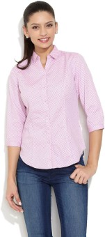 Scullers Sorbet Ditsy Teardrop Women's Printed Casual Shirt