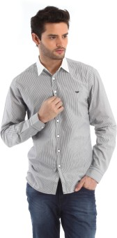 Red Tape Men's Striped Casual Shirt