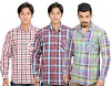 Value Clothing Men's Checkered Casual Shirt