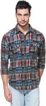 Zovi Men's Checkered Casual Shirt