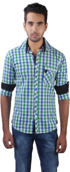 Alive Sport Men's Checkered Casual Shirt