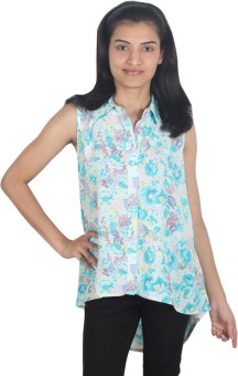 Forever Fashion Sugandha Women's Printed Casual Shirt