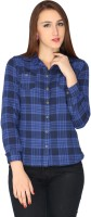 Max Women's Checkered Casual Shirt