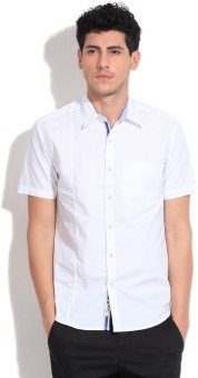 Max Men's Solid Casual Shirt