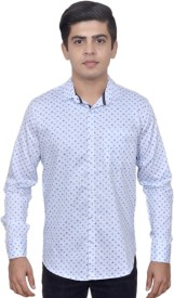 Ivory Men's Printed Casual Shirt