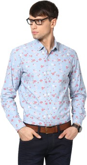See Designs Men's Floral Print Casual Shirt