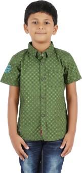 Biker Boys Boy's Printed Casual Shirt